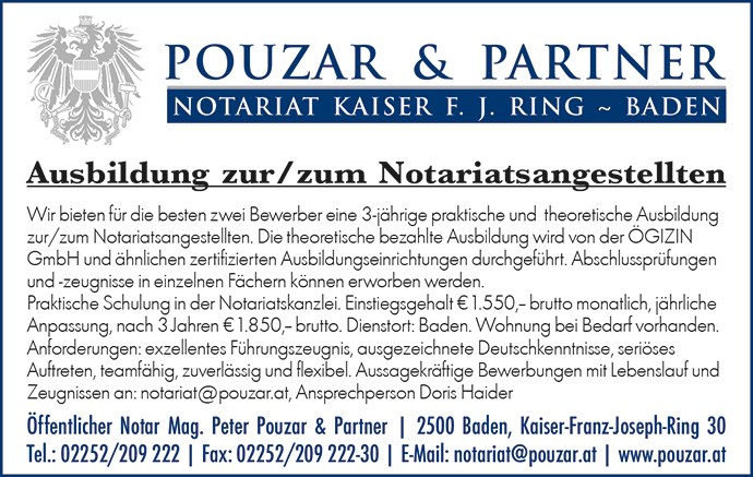 Banner Pouzar.at